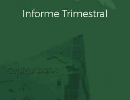Informe Trimestral Junio 2018